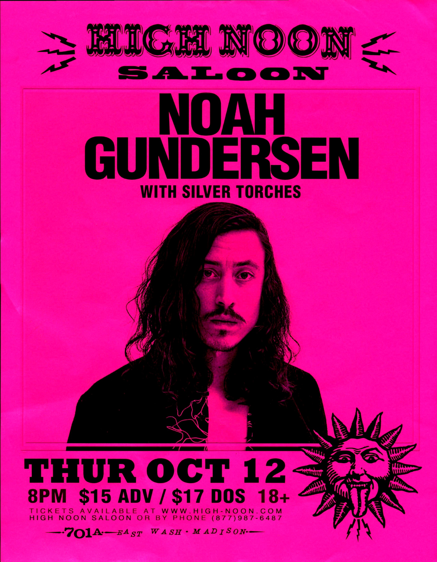 Noah Gundersen High Noon Saloon