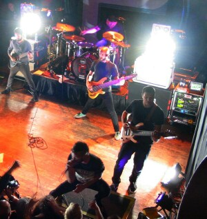 Periphery rocking the Majestic - photo by Sal Serio