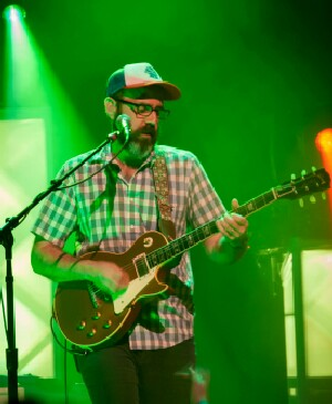 Al Schnier of moe. Feb. 8, 2013, at the Capitol Theater in Madison. - photo by Nicole Richmond