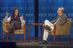 Alice Cooper & Anthony DeCurtis - photo by Joyce Culver