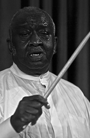 Bernard Purdie - photo by Michael Sherer