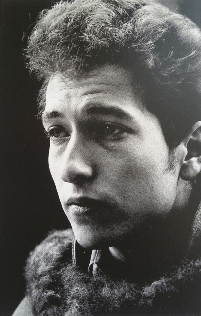 Bob Dylan circa 1963 - photo by Jim Marshall