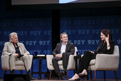 Michael Douglas, Stephen Galloway & Sherry Lansing