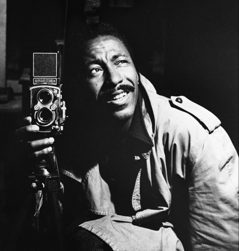 Gordon Parks - photo by Self portrait by Gordon Parks
