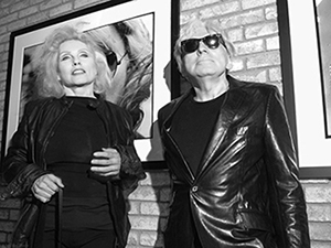 Deborah Harry & Chris Stein - photo by Michael Sherer