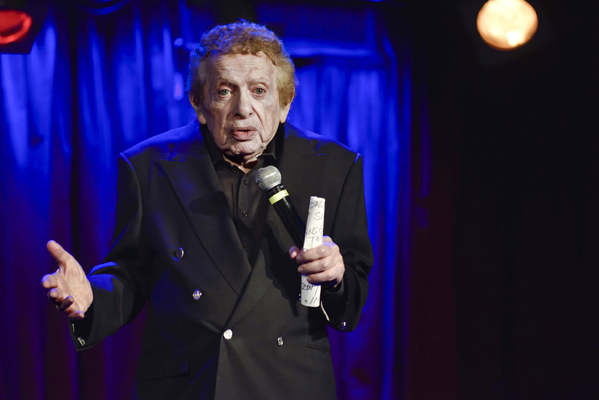 Jackie Mason - photo by Michael Sherer