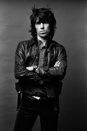 Keith Richards, 1971 - photo by Norman Seeff