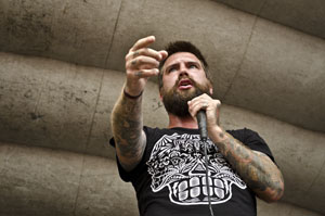 Every Time I Die's Keith Buckley - photo by Joanna Fox Photography