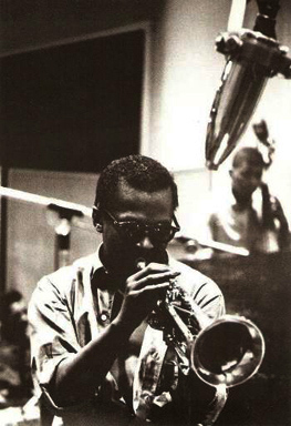 Miles Davis - photo by Carole Reiff