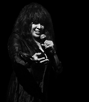 Ronnie Spector - photo by Michael Sherer