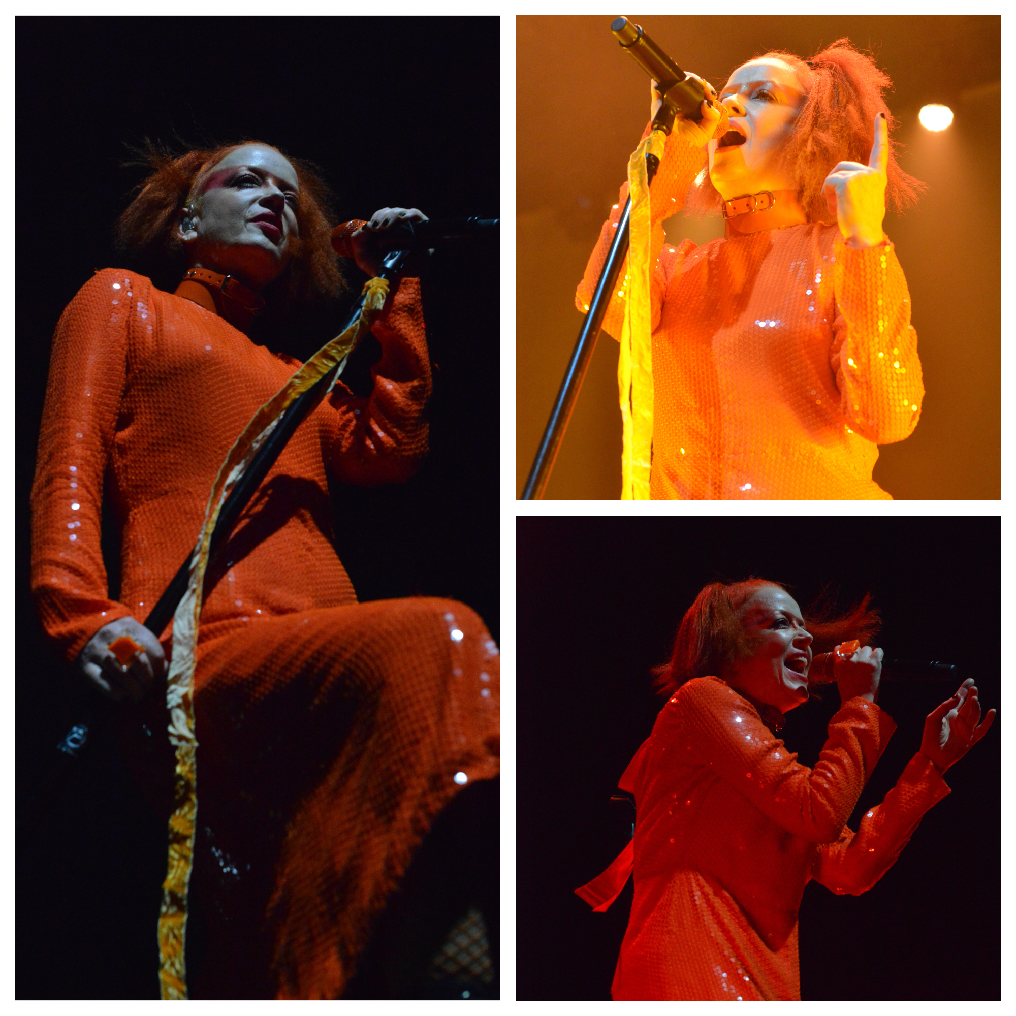 Shirley Manson of Garbage - photo by Russell Kershaw