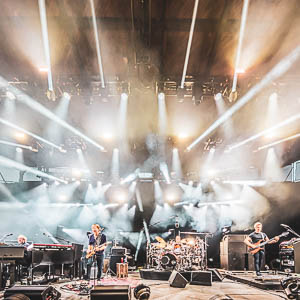 Phish performing at Alpine Valley Music Theater in East Troy, Wisconsin in July of 2019. - photo by Graham Washatka