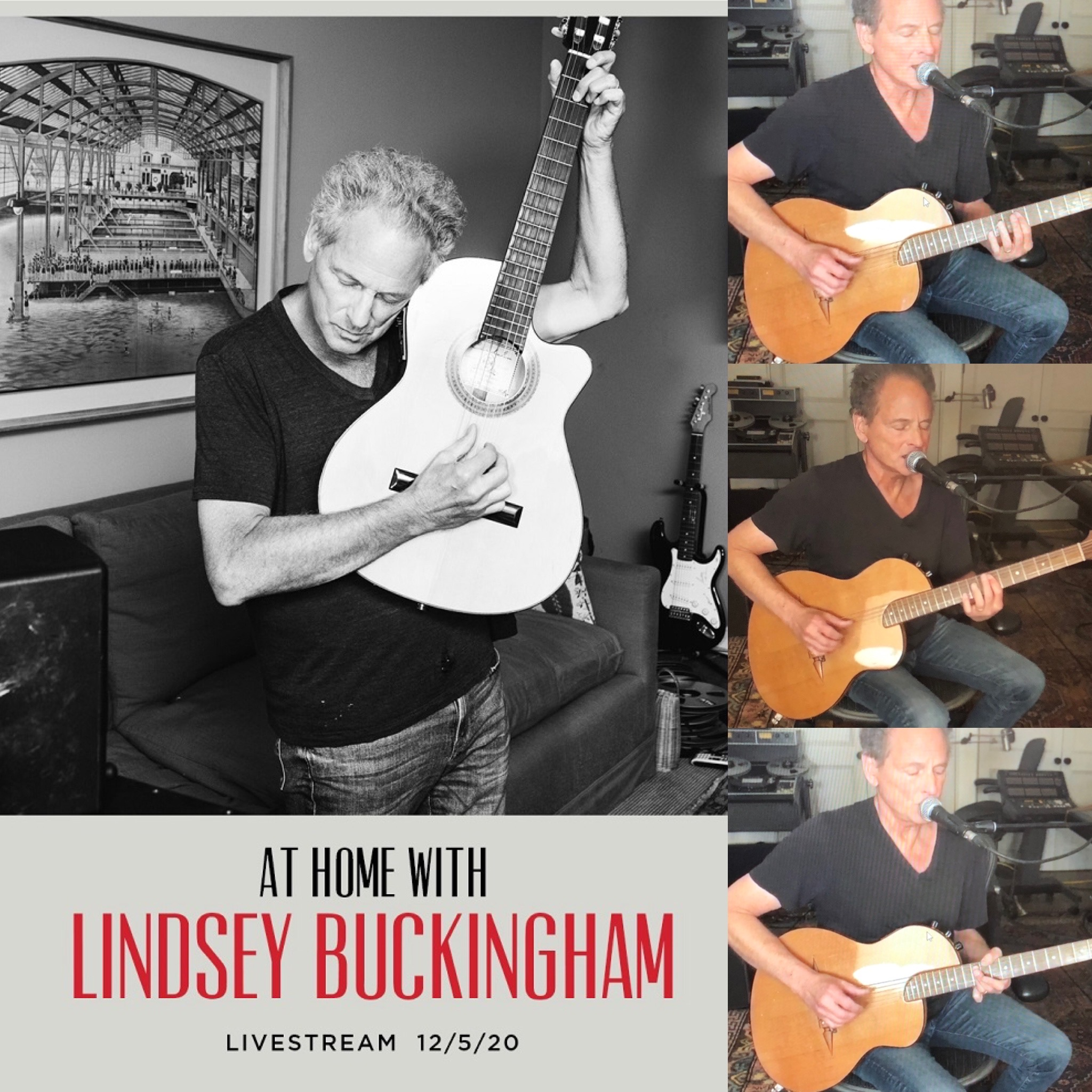 At Home with Lindsey Buckingham - 12/5/20