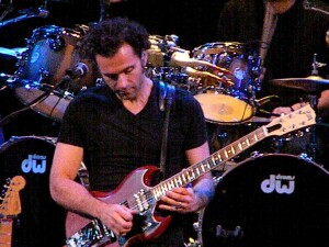 Dweezil Zappa at the Barrymore in Madison 12-8-12 - photo by Sarah Warmke