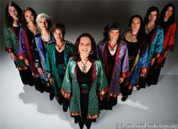 Kitka - Women's Vocal Ensemble - photo by Pixie Vision Productions