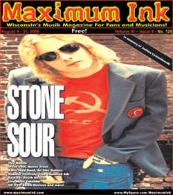 Stone Sour on the cover of Maximum Ink in August 2006