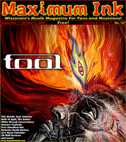 Tool on the cover of Maximum Ink September 2006 art by Peter Westermann