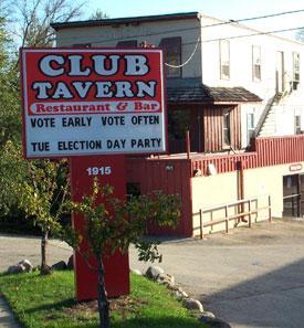Middleton's Club Tavern, say hi to
