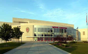 Kohl Center in Madison, Wisconsin, Home of Badger Hockey, Basketball and more!!