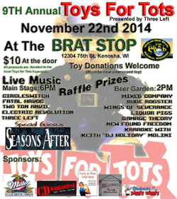 Toys For Tots Benefit 2014